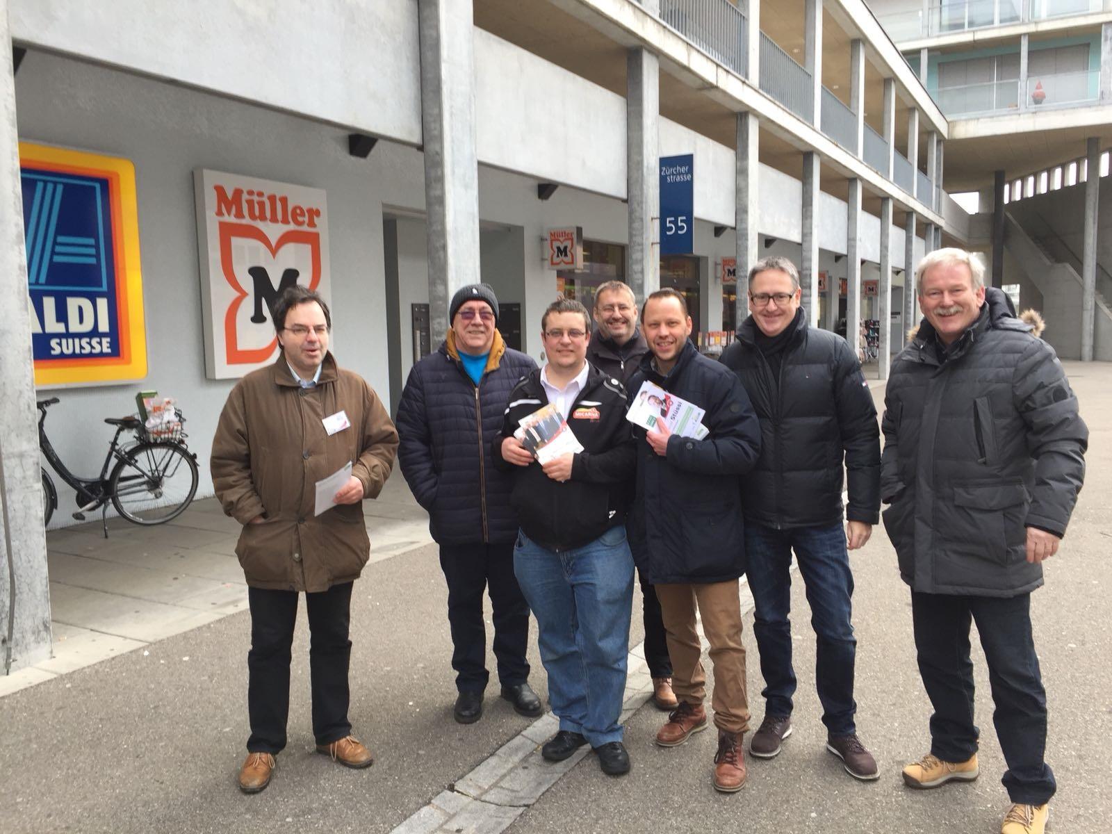 Stadtrats- & Gemeinderatskandidaten «bi de Lüt»
